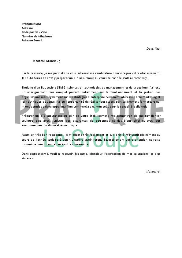 photo lettre motivation gratuite modele lettre