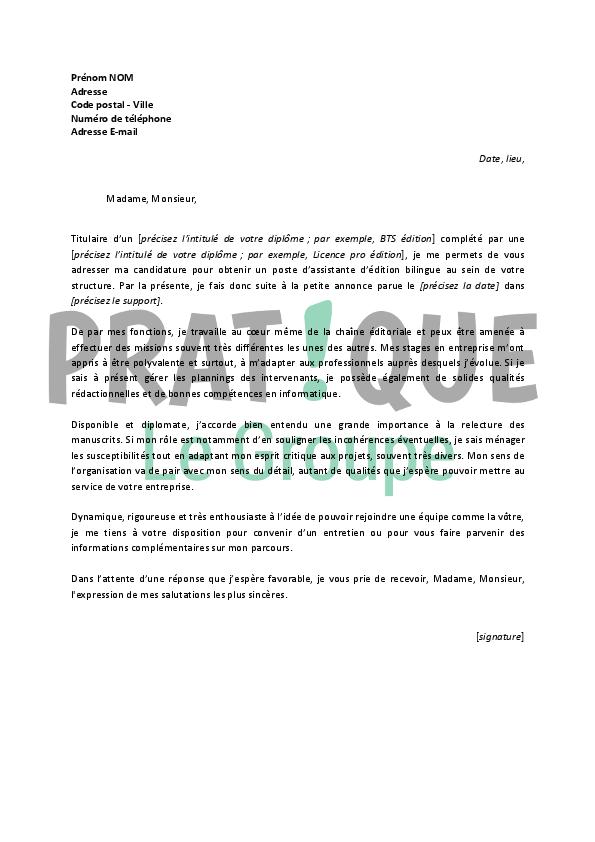photo modele de lettre pour lettre de motivation