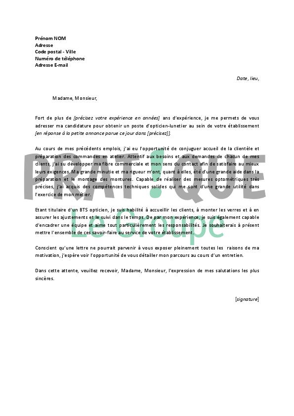 photo lettre motivation modele lettre de motivation