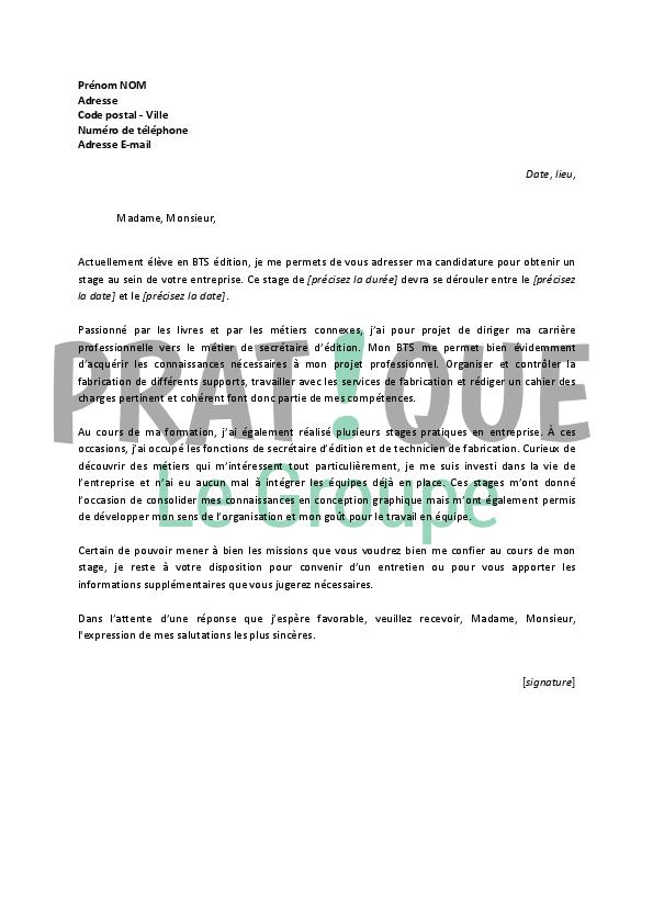 photo lettre de motivation changement dentreprise modele lettre