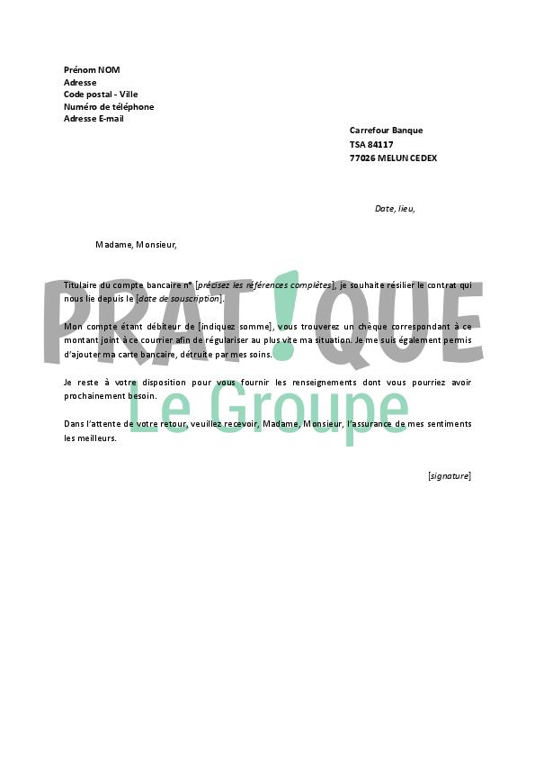 les lettres administratives