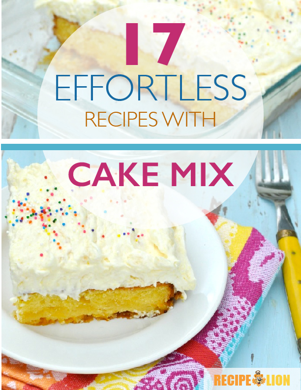 17 Effortless Recipes With Cake Mix\