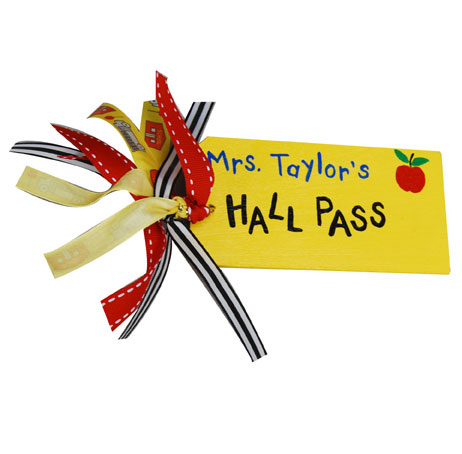 Kids Hall Pass FaveCrafts