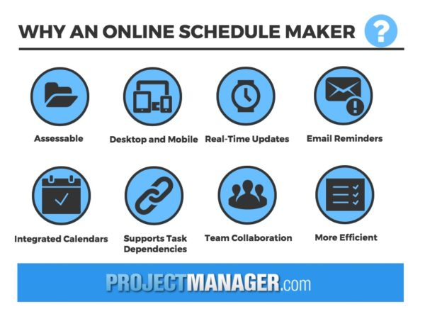 How to Use a Schedule Maker for Projects - schedule maker