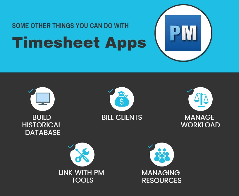 5 Ways to Use a Timesheet App