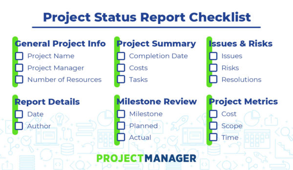 Project Status Report - What Should It Include?