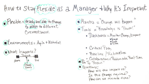 How to Stay Flexible as a Manager  Why It\u0027s Important