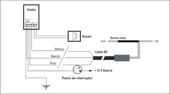 ultima diagrama de cableado de serie