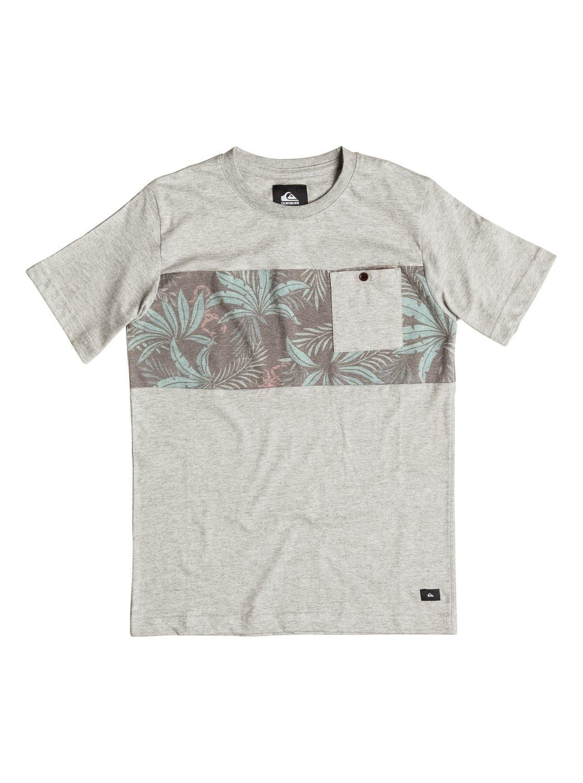 Quiksilver plain black t shirt - Quiksilver Plain Black T Shirt 0 Boys 8 16 Upton Pocket T Shirt Grey Aqbkt03017 Download