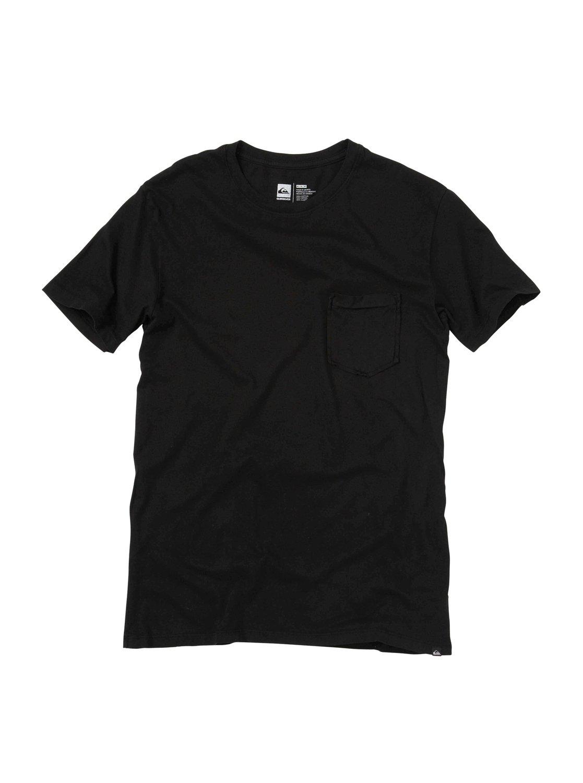 0 blank pocket crew t shirt aqyzt00948 quiksilver