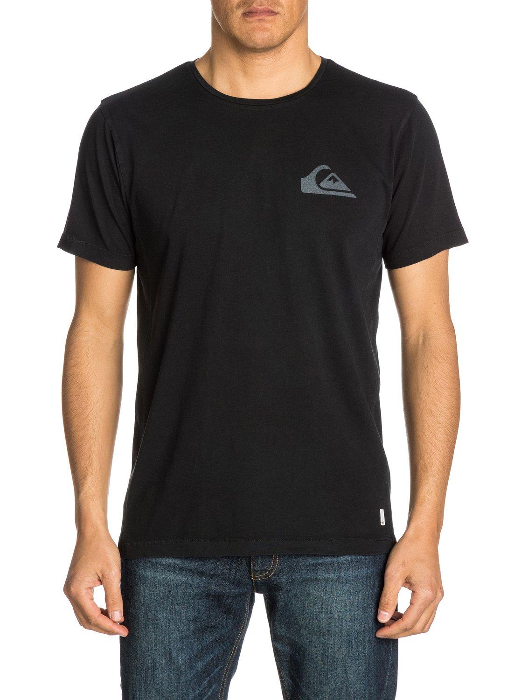 Quiksilver plain black t shirt - Quiksilver Plain Black T Shirt 2 Mw Modern Fit T Shirt Uqyzt03090 Quiksilver Download
