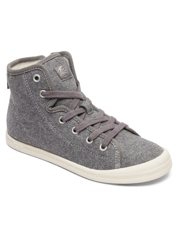 Girls 7 14 Rizzo Mid Top Shoes Args600085 Roxy