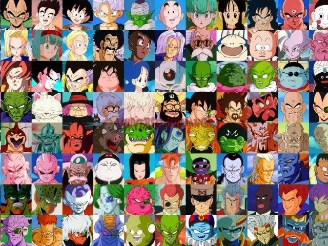 Dragon Ball Z Girls Wallpaper Voc 234 Conhece Os Nomes Dos Personagens De Dragon Ball Quizur