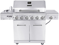 Megamaster Fusion 600 Pro Gas Grill Bbq Household