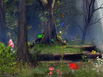 3d Fall Desktop Wallpaper Butterfly Woods Screen Saver 5 07 Review And Download