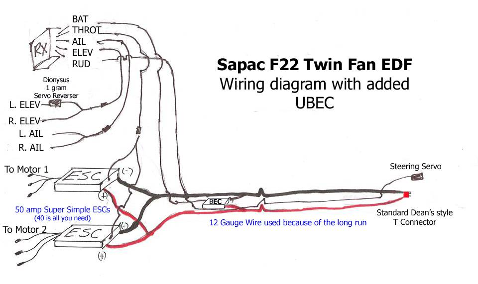Rc Glider Wiring Diagram Wiring Diagram