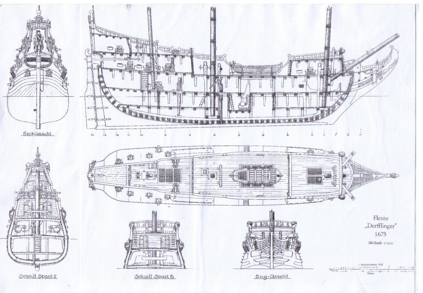 galleon diagram