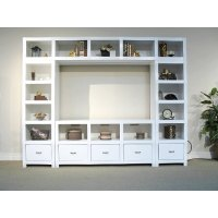 White Entertainment Centers - Home Ideas