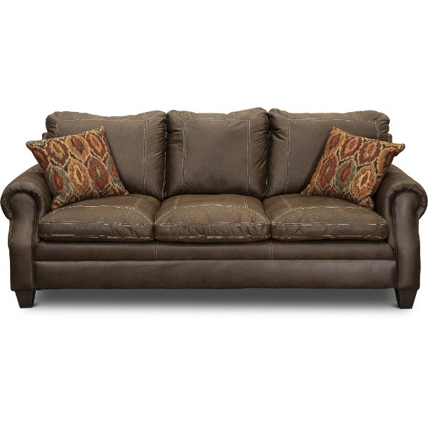 ... U2022 Decent Classic Brown Sofa Shiloh Furniture Store ...