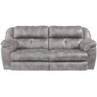Steel Gray Power Reclining Living Room Set - Ferrington ...