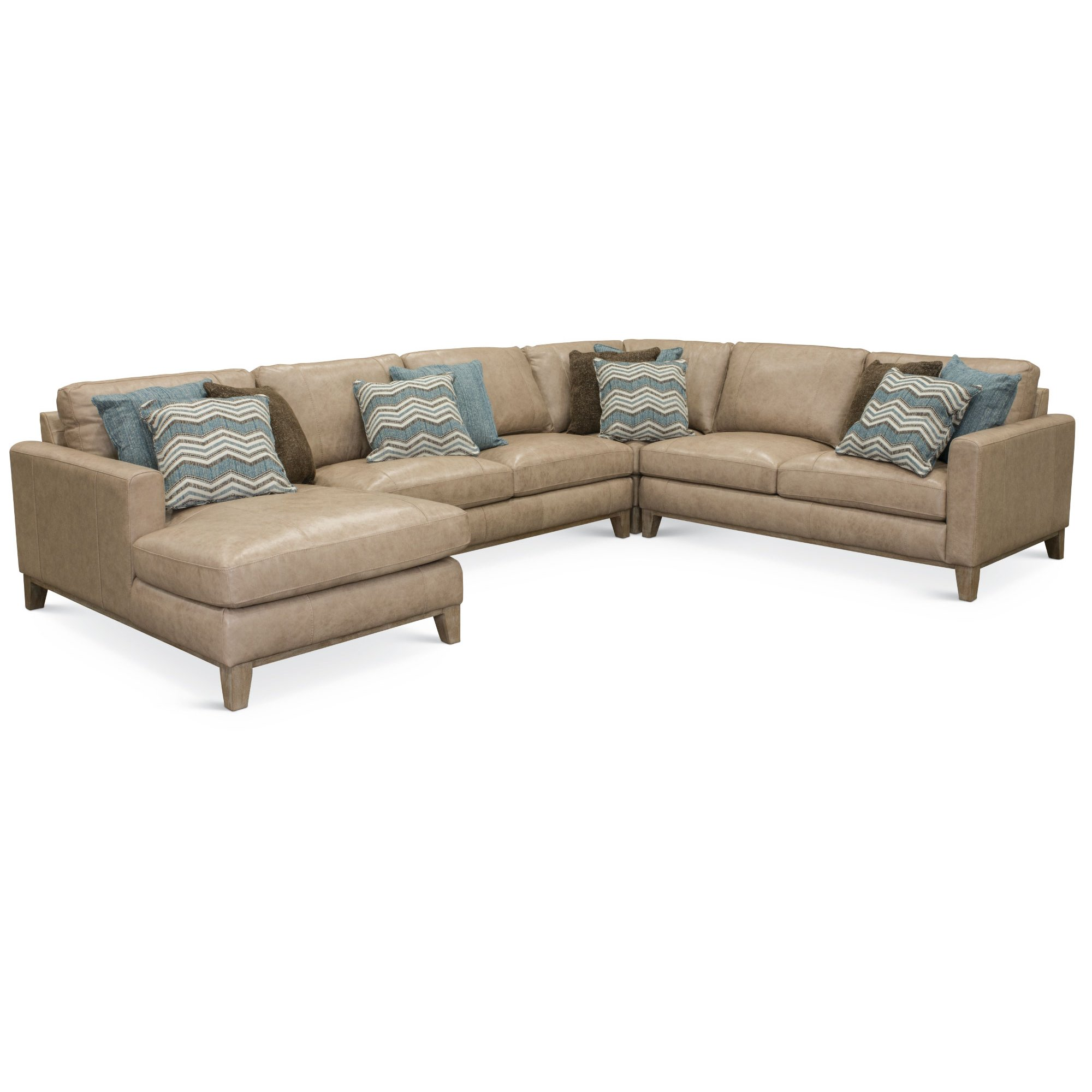 Sofology Quebec Contemporary Leather Sectional Sofa Sofa Ideas