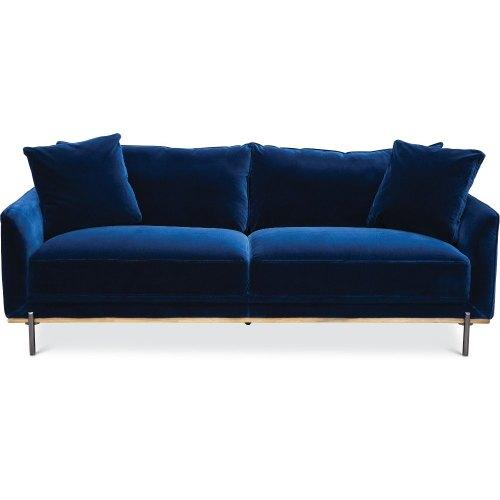 Medium Crop Of Blue Velvet Couch