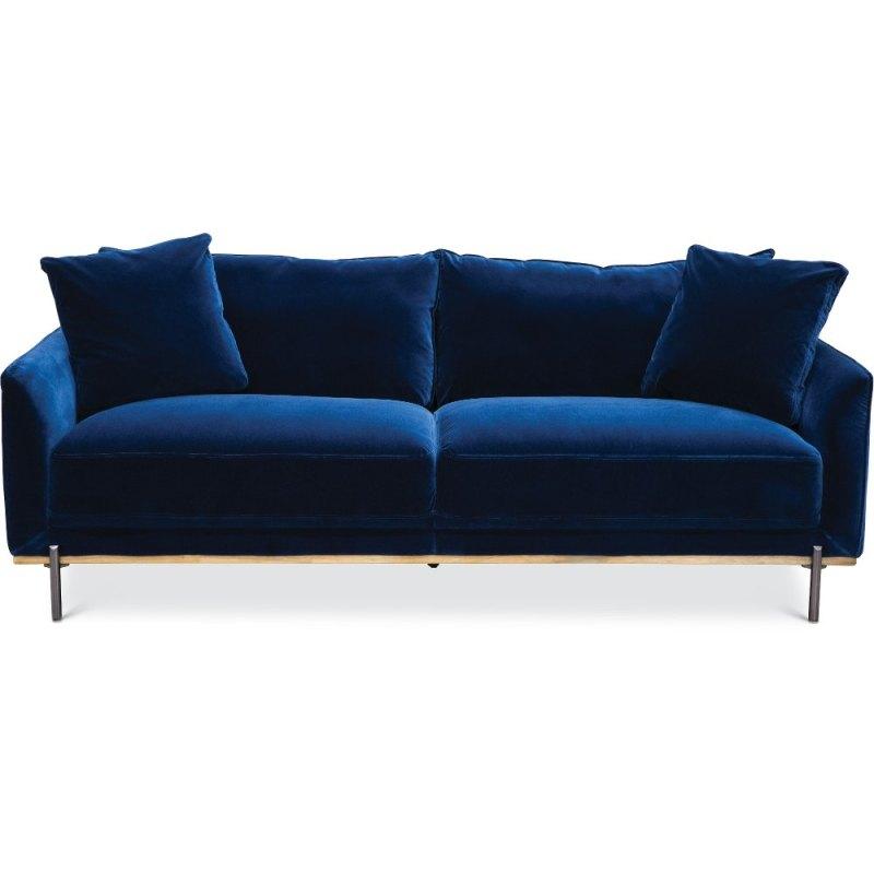 Large Of Blue Velvet Couch