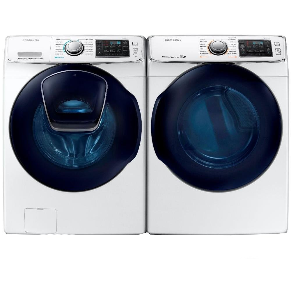 Samsung Front Load Washer Samsung Front Load Washer And Dryer Laundry Set White Electric