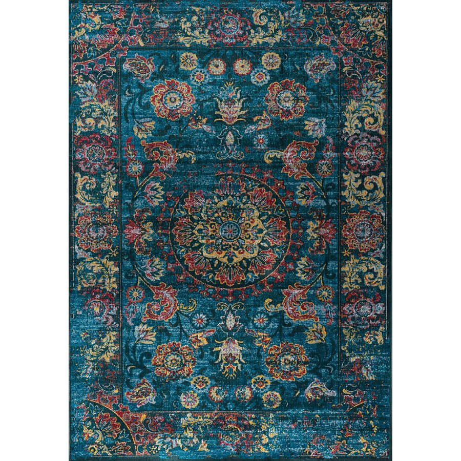 Teal Color Area Rugs 7 X 10 Large Vintage Teal Blue And Red Area Rug Antika