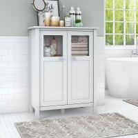 $114.99 - Sauder Caraway Bathroom Storage Cabinet , White