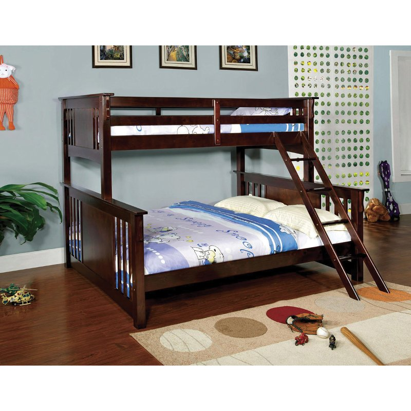 Miami Twin Over Queen Bunk Bed