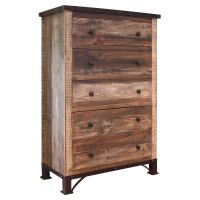Rustic Antique Brown Chest of Drawers - Antique   RC ...
