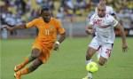 Di R Drogba Kiri Striker Timnas Pantai Gading Berebut Bola