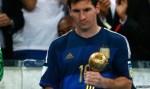 World Cup Golden Ball Messi
