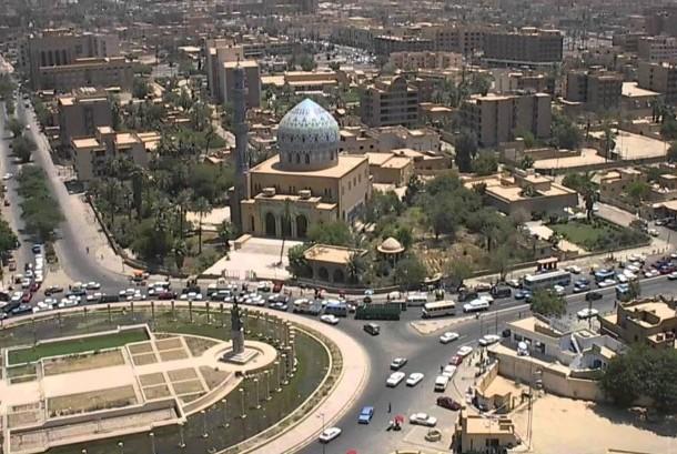 Kota Baghdad, salah satu warisan kejayaan Islam.
