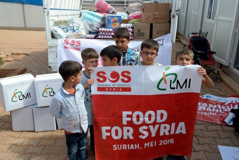 Bantuan LMI untuk Suriah