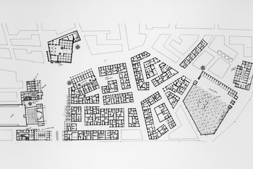 Desa New Gourna karya Hasan Fathi