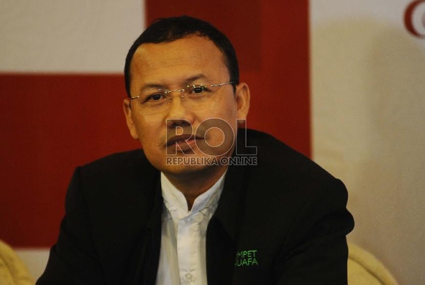 Presdir Dompet Dhuafa Ahmad Juwaini
