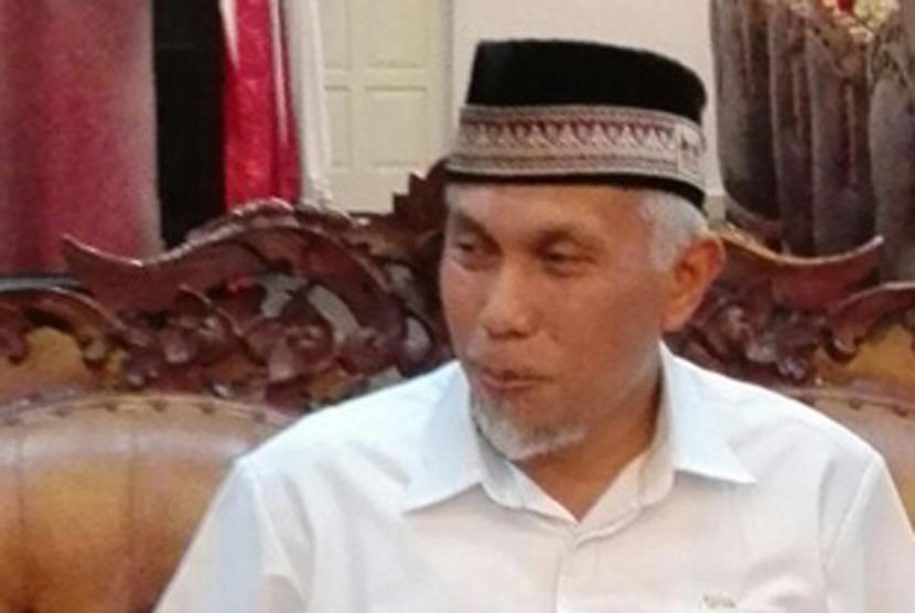 Wali kota Padang H Mahyeldi Ansharullah