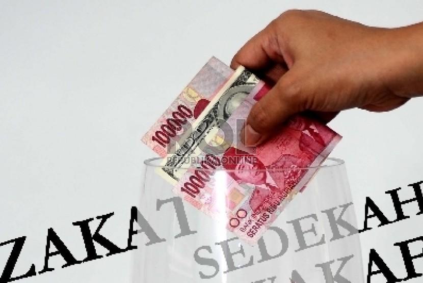 Zakat.  (ilustrasi)
