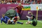 Laga Perdana Grup C Piala Eropa Antara Spanyol