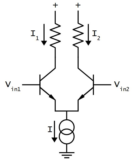 differential pair schematic