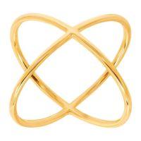 Eternity Gold Criss Cross 'X' Ring in 14K Gold | Criss ...