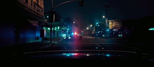 Car Chase Wallpaper Drive Yellow Light Red Light Blue Light Pink Light