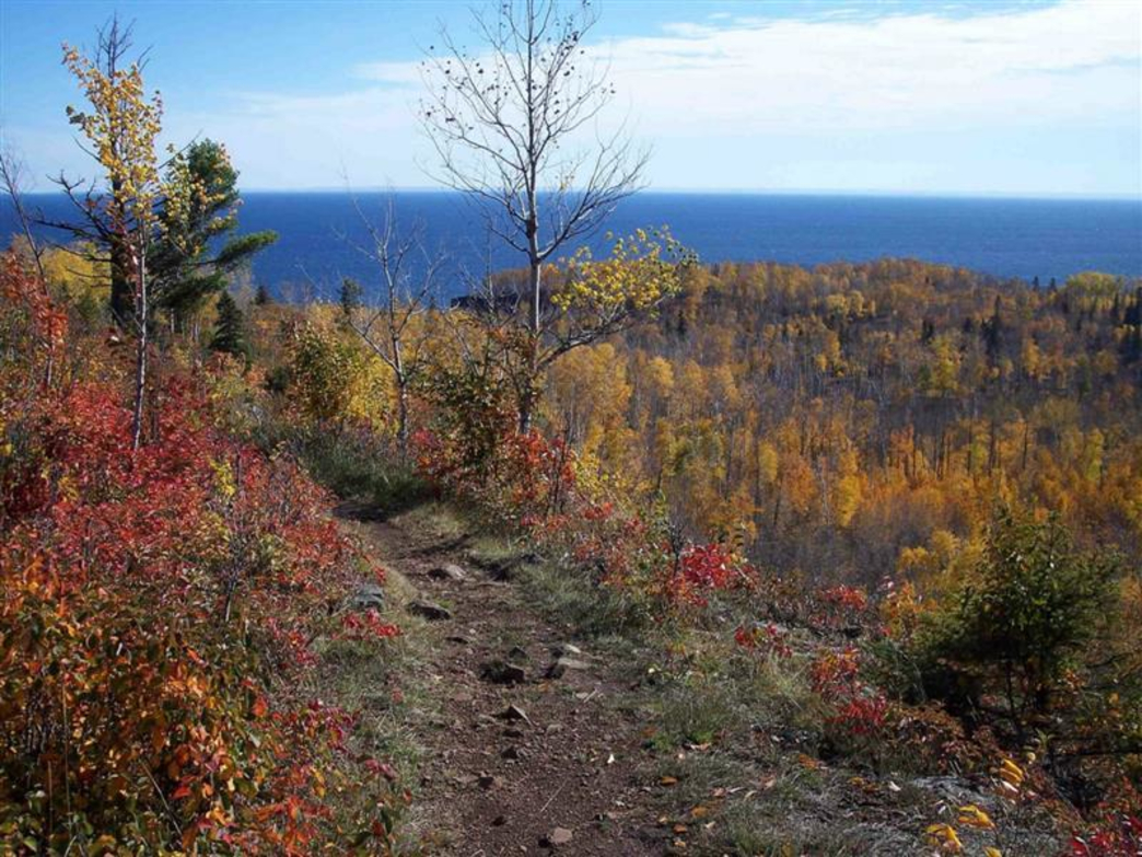 Fall Mountain Wallpaper Superior Hiking Trail Backpacking