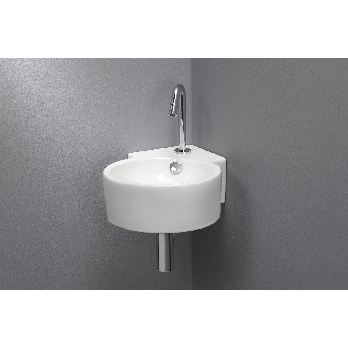 Wc D'angle Royal Plaza Capella Lavabo Wc D 39angle 44 5x31x16cm Blanc