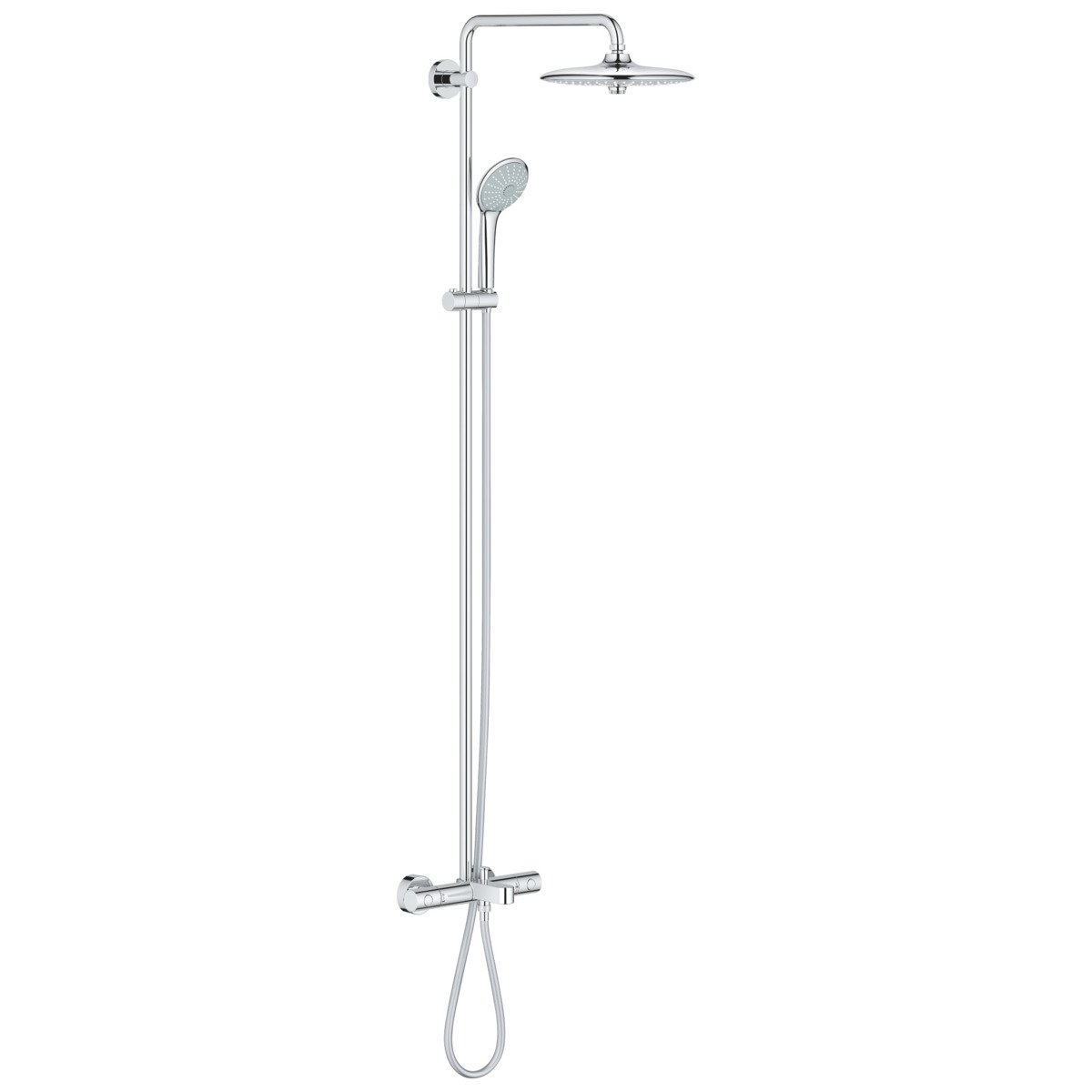 Grohe Euphoria Douchesysteem 180 Chroom Grohe Euphoria Douchesysteem Met Badkraan Met Euphoria Hoofddouche