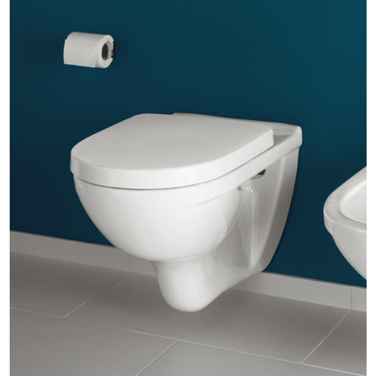 Photo Wc Suspendu Villeroy Boch O Novo Wc Suspendu à Fond Creux Blanc 0124124
