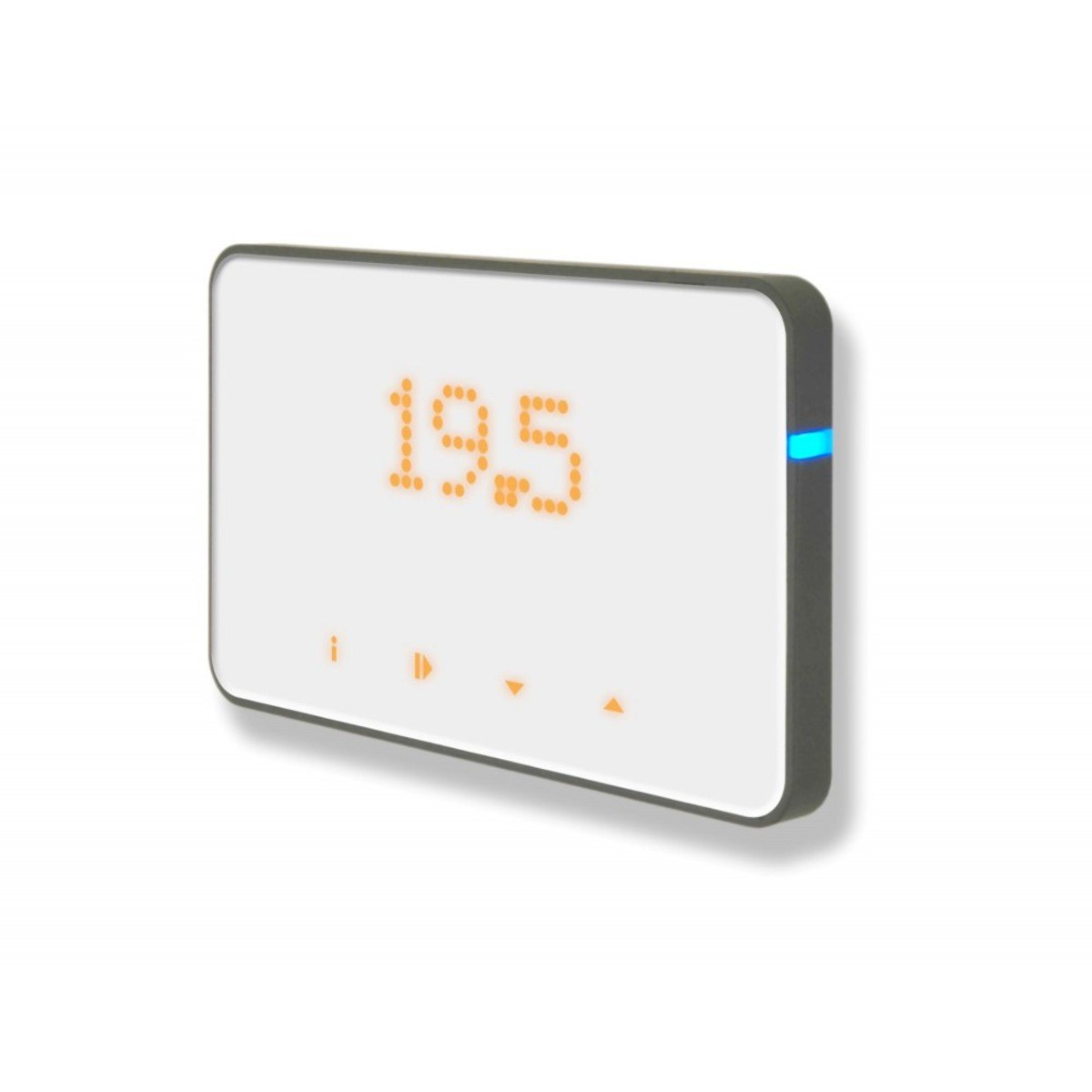 Slimme Thermostaat Wifi Thermosmart Advanced Slimme Thermostaat Met Wifi Wit Thermosmart