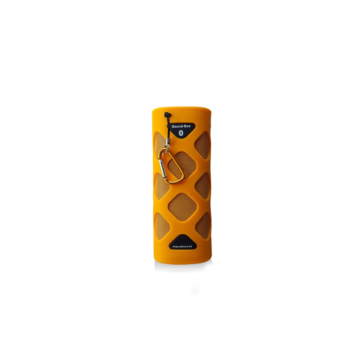 Draadloze Speakers Badkamer Aquasound Bluetooth Sound Box Oranje - Spksb1-o